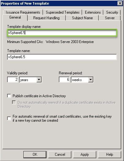 Replacing psc certificates with microsoft ca generated cert tamplatenameg yadclub Choice Image