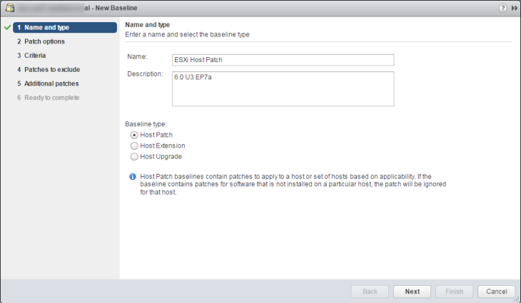 Patching ESXi Hosts with Update Manager on vSphere 6 5