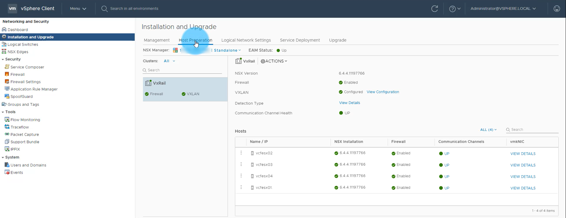 Deploying VCF on VxRail MGT WLD – https://cliffcahill com